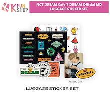 【2次】NCT DREAM LUGGAGE STICKER SET【Cafe 7 DREAM OFFICIAL MD】【キャンセル不可】【送料無料】【公式グッズ】エヌシーティードリーム