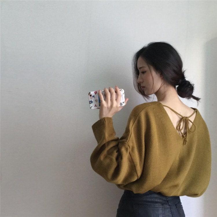 レディース ニット セーター トップス アウター  新作 長袖 ファッション