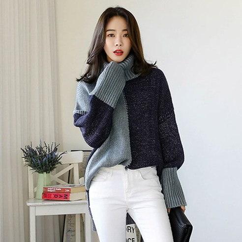 【WhiteFox]女性用の帰り道長袖カットソーSA-7891 korean fashion style