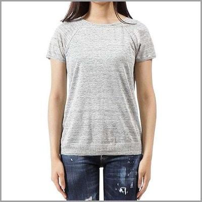 [マーラ](19410382 DEDE 650 01)女性半袖ニット18SS /ソリッド/無地Tシャツ/ Tシャツ/韓国ファッション/