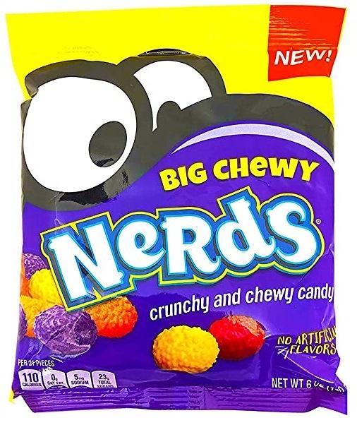 新発売!Nerds Big Chewy crunchiy and chewy Candy 1袋 ナーズキャンディー アメリカお菓子 日本未発売