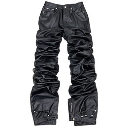 [SURGERY] SS 21 surgery long length double jeans  coating black