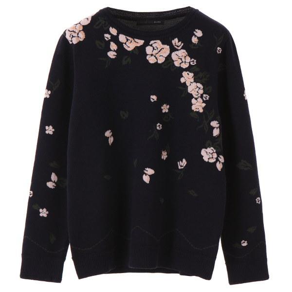 [韓国直送] 【オリーブデオリーブ] flower P.R.Int knit OK7WP805