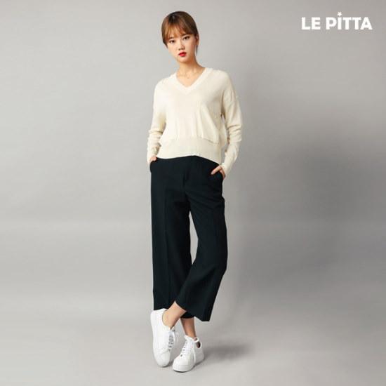ルピタポケットブイネク・ニットL163TSW903 ニット/セーター/韓国ファッション
