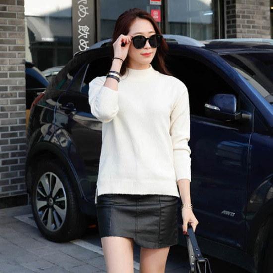 シーフォックスボディプポルラニトゥ ニット/セーター/タートルネック/ポーラーニット/韓国ファッション