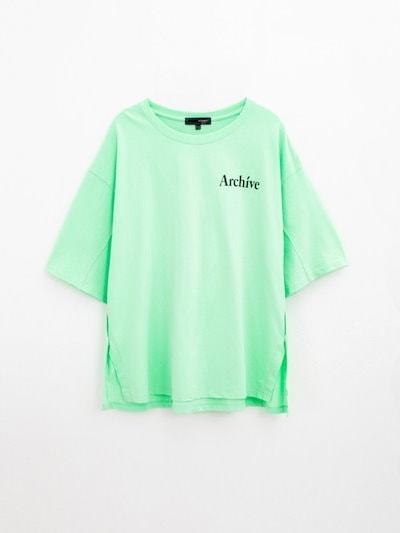 [SAY公式ストア][h:connect] 5部バックプリントTシャツ(30221-131-403-06)