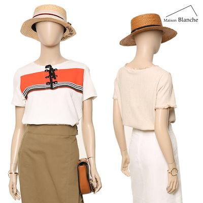 メゾンブルランスィボヘミアンタッセルティーシャツM172YTS501 ティーシャツ / ソリッド/無知ティーシャツ / 韓国ファッション