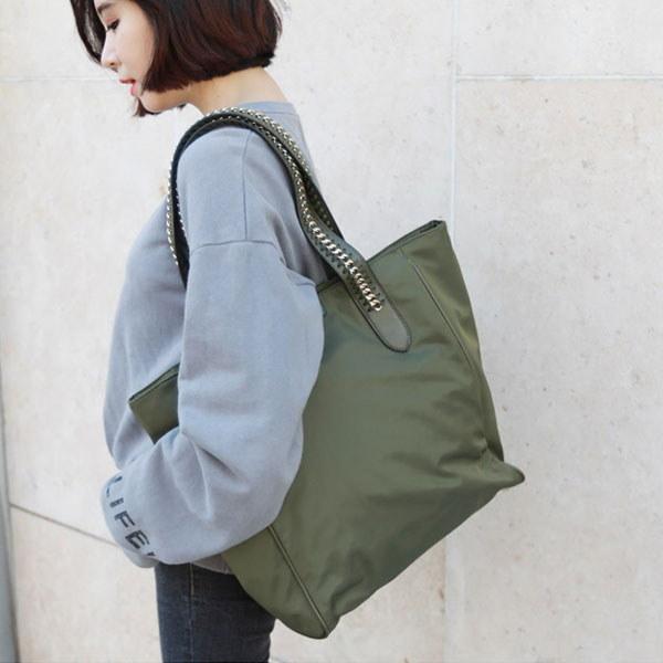 韓国ファッション バッグ カバン バッグ レディース バック 韓国 バッグ CHAIN STITCH SHOULDER BAG
