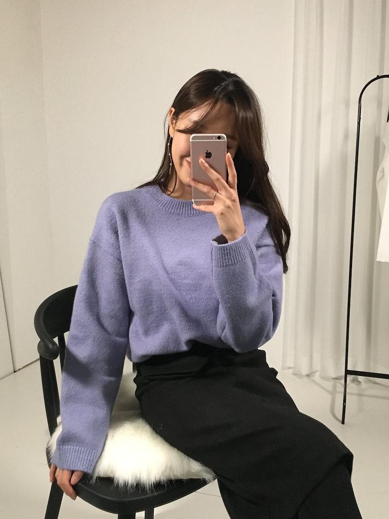 チャイルドデートルックルーズフィットニットkorea fashion style