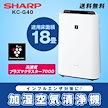 【カートクーポン使えます】[インフルエンザ・花粉対策に!][SHARP]KC-G40 加湿空清モード13畳までカバー!