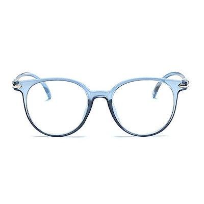Unisex Wayfarer非処方メガネフレームクリアレンズ眼鏡