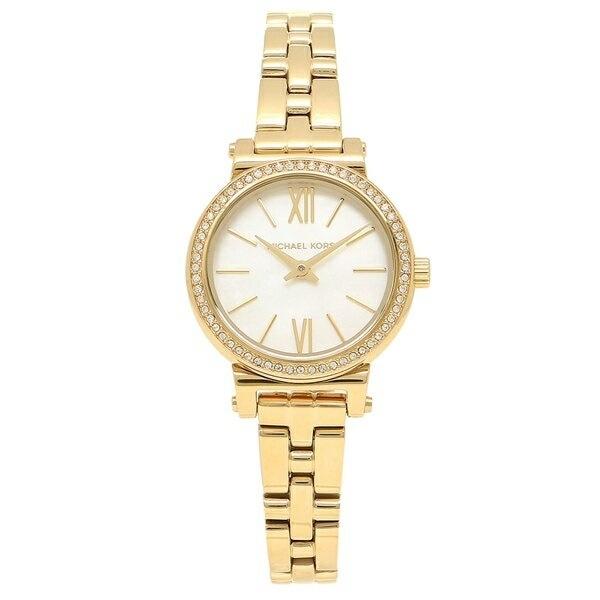 マイケルコース 時計 MICHAEL KORS MK3833 PETITE SOFIE プチソフィー レディース腕時計ウォッチ イエローゴールド/パール