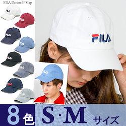 92e4ab7407586 キャップ FILA  メール便可  帽子 レディース 6パネルキャップ キッズ メンズ CAP