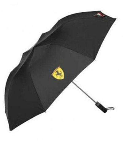 (フェラーリ)フェラーリブラックコンパクト傘