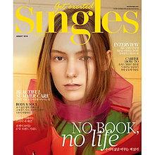 韓国女性雑誌 Singles(シングルズ) 2018年 8月号 (INFINITEのエル、コ・アラ、キム・アジュン記事) SNGL1808