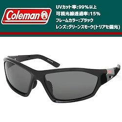 93950a7f8b9f49 Coleman(コールマン) メンズ 偏光サングラス CO3067-3 ブラック【送料無料!北海道