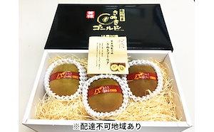 さぬきゴールドキウイ 黄様(おうさま)特大3玉 化粧箱入り