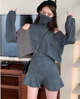 【3+1枚5枚+2枚】秋冬新作ニット今日限定販売セーター韓国ファッション無地トップス美胸調整ブラウス肌触りよい 高い弾力性レディースファッションブラウスタンクトップキャミソール