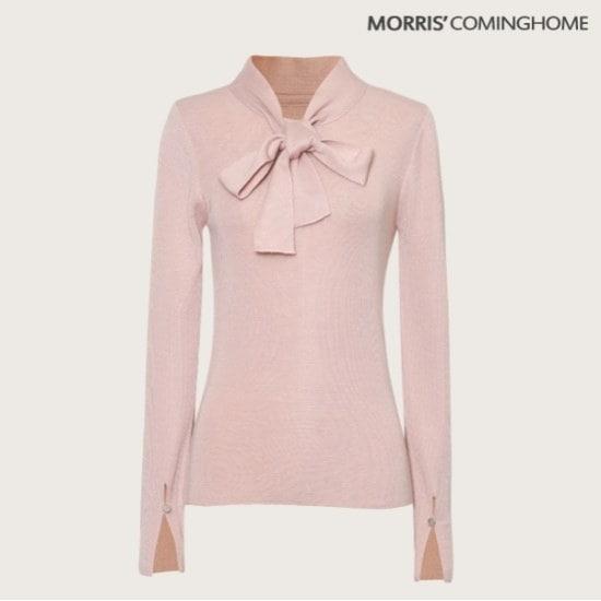 モリス・カミング・ホームスリット・スリーブタイ・ニット ニット/セーター/カラーニット/韓国ファッション