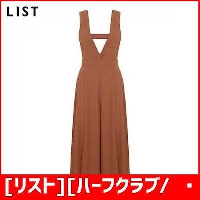 [リスト][ハーフクラブ/リスト]サスペンダーワイドジャンプスーツTWWOPI60020CA /ワンピース/綿ワンピース/韓国ファッション
