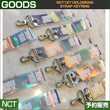 NCT127 HOLOGRAM STRAP KEYRING  / SUM DDP / 1807nct /1次予約/送料無料