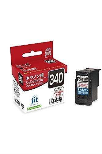 ジット 日本製 プリンター本体保証 キヤノン(Canon)対応 リサイクルインクカートリッジ BC-340 ブラック対応 JIT-C340B