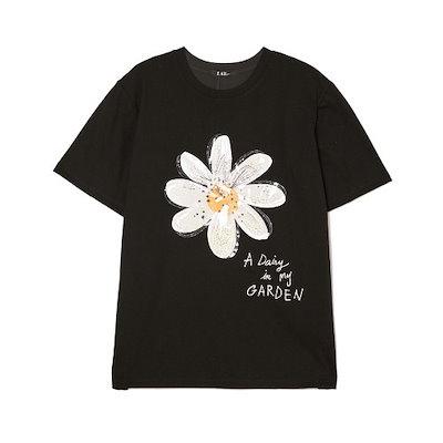 [AK公式ストア]【LAP] [19年夏】フラワーモチーフのTシャツAK2CT443
