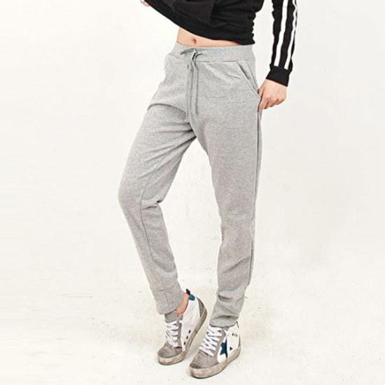 HスタイルPR基本排気・パンツ女性トレーニングパンツビッグサイズ 大きいサイズ/スウェットパンツ/韓国ファッション
