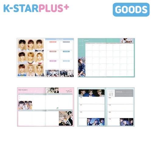 K-POP GOODS / 2020 SCHEDULE BOOK / スケジュールブック / TVXQ SHINEE EXO NCT STRAYKIDS THEBOYZ REDVELVET /