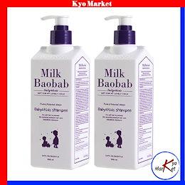 Milk Baobab_ミルクバオバブ ベビーキッズ シャンプー 風船ガムの香り 500ml 1 + 1