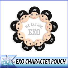EXO / CHARACTER POUCH / キャラクターポーチ  /メンバー選択/ ポーチ+フォトカード / エクソ / SM / EXOGOODS