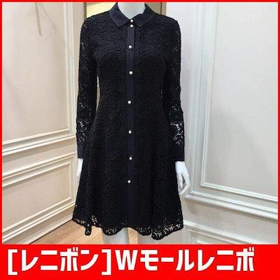 [レニボン]Wモールレニボン新レースのワンピースRNA5779 /ワンピース/綿ワンピース/韓国ファッション
