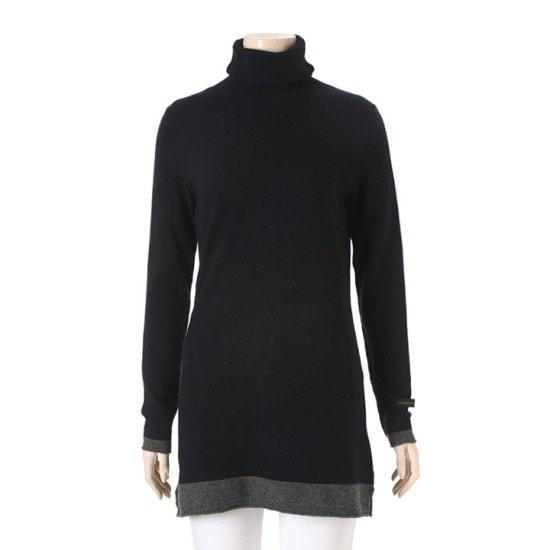 オリビアハスルロFモクポルラロング・ニットOH5WSW004NY ニット/セーター/ニット/韓国ファッション