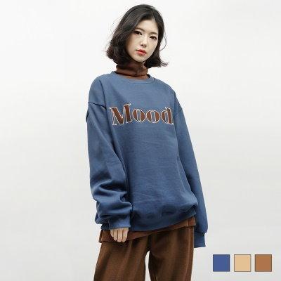 [韓国直送] 2408ムードビッグレタリングマンツーマン(3colors)