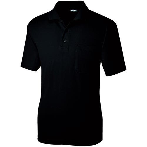 桑和(SOWA) 半袖ポロシャツ(P) 4/ブラック SS~3Lサイズ 50397 【作業着 作業服 ワークウェア ウエア トップス メンズ】