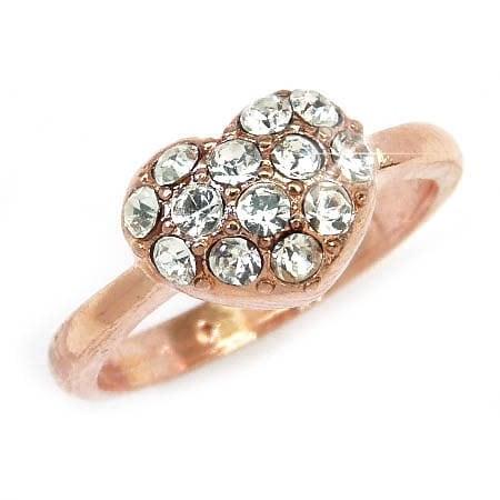 『広告の品 』売り切ります ピンキーリング リング 指輪 レディース シンプル きらきら パーティーや結婚式 プレゼントにも 9号 11号 13号【あす楽】アクセONE おしゃれ レディースジュエリー