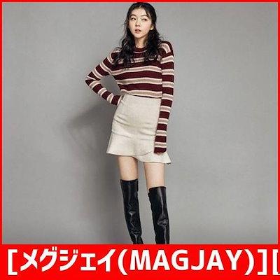 [メグジェイ(MAGJAY)][行き来するように/メグジェイ]ベセクウルゴルジニート(J12PNT213) /ニット/セーター/ニット/韓国ファッション