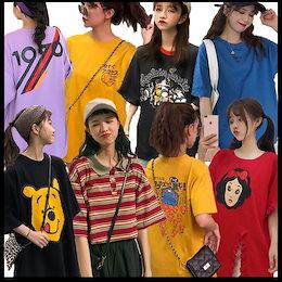 ♥ 原宿风/BF 风/tシャツ/シャツ♥超高品質♥最安值挑战♥韓国のファッションTシャツ/安く購入する部屋着と外出着/ユニークなデザインとロゴ/さまざまな
