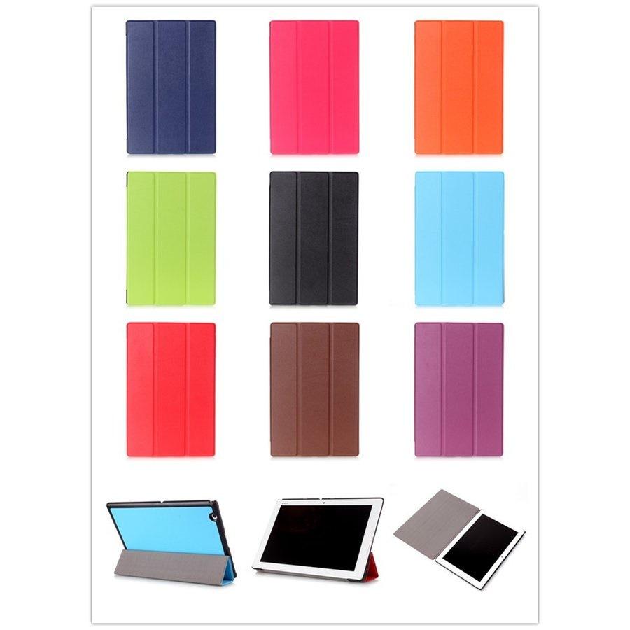 保護フィルム+ タッチペンおまけ!Sony Xperia Z4 Tablet SO-05G/SOT31レザーケース/手帳型カバー/スタンドカバー 【B293+W026+A495】