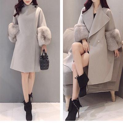 2018新品 韓国ファッション  レディース  コート 長袖 厚手 暖かい コート アウター トップス  可愛い上質  DY1891701