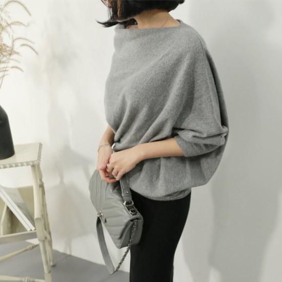 ラベルルームT17122のカリン・キャッシュ・ニット ニット/セーター/ニット/韓国ファッション