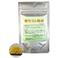春ウコン粉末[100g]天然ピュア原料(無添加)健康食品(はるうこん,ハルウコン)