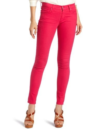 James Jeans Womens Twiggy Skinny Jean, Fuchsia, 29