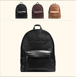 COACH OUTLET コーチ アウトレット リュック F54786 BLK スポーツ チャールズ