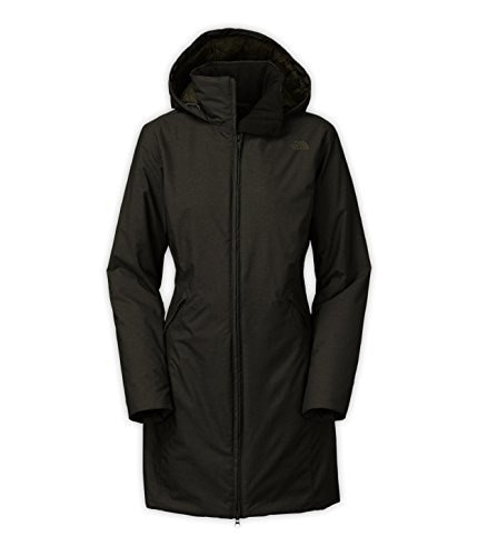 The North Face Haleakala Insulated Parka - Womens Forest Night Green Heather, XS
