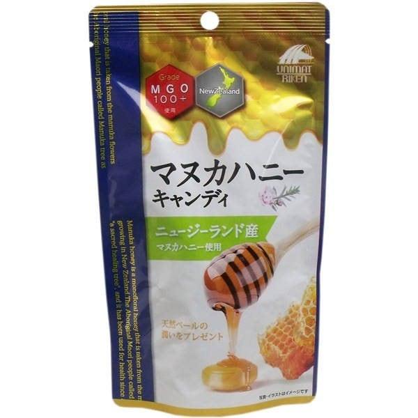 【メール便対応可】ユニマットリケン マヌカハニー キャンディー MGO100+ 10粒