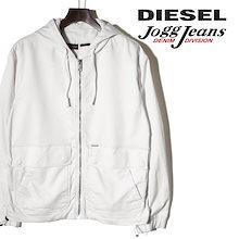 ディーゼル DIESEL フーデッドジャケット メンズ 薄手 ジップアップ スウェットデニム ジョグジーンズ パーカー J-DAN-NE die-m-o-b4-668