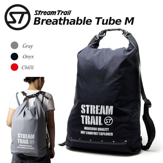 ストリームトレイル Stream Trail BREATHABLE TUBE M ブレッサブルチューブ M ショルダーバッグ リュックサック 防水バッグ