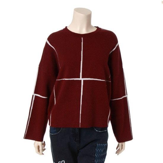 ビエンエックスカオリピップルオーバーBNDKP939P0WN ニット/セーター/ニット/韓国ファッション