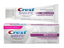 【清涼感】【 爽やかな味】【 LUXEシリーズの3倍効果】♪ 米国で大人気のホワイトニング歯磨き粉♪ クレスト 3Dホワイト バイブラント・魅惑のミント味 ホワイトニング歯磨き粉 116g